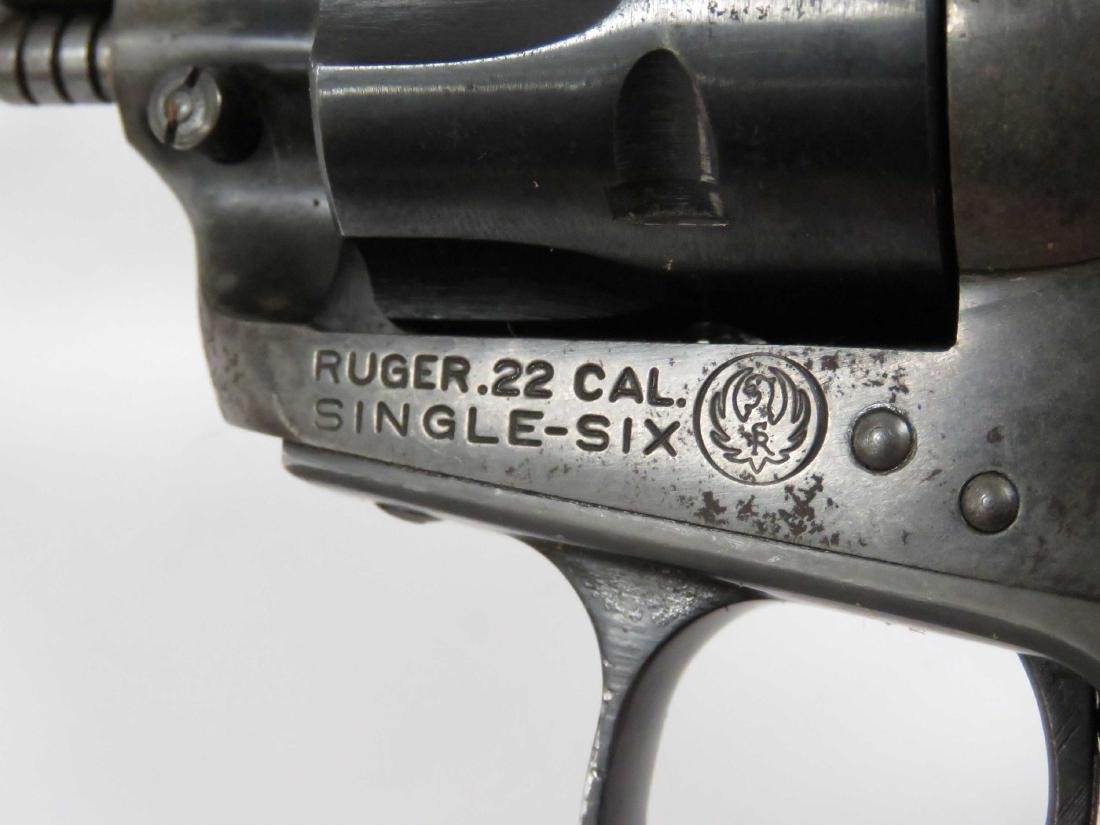 **RESTRICTED** STURM RUGER SINGLE SIX .22 CAL REVOLVER, - 3