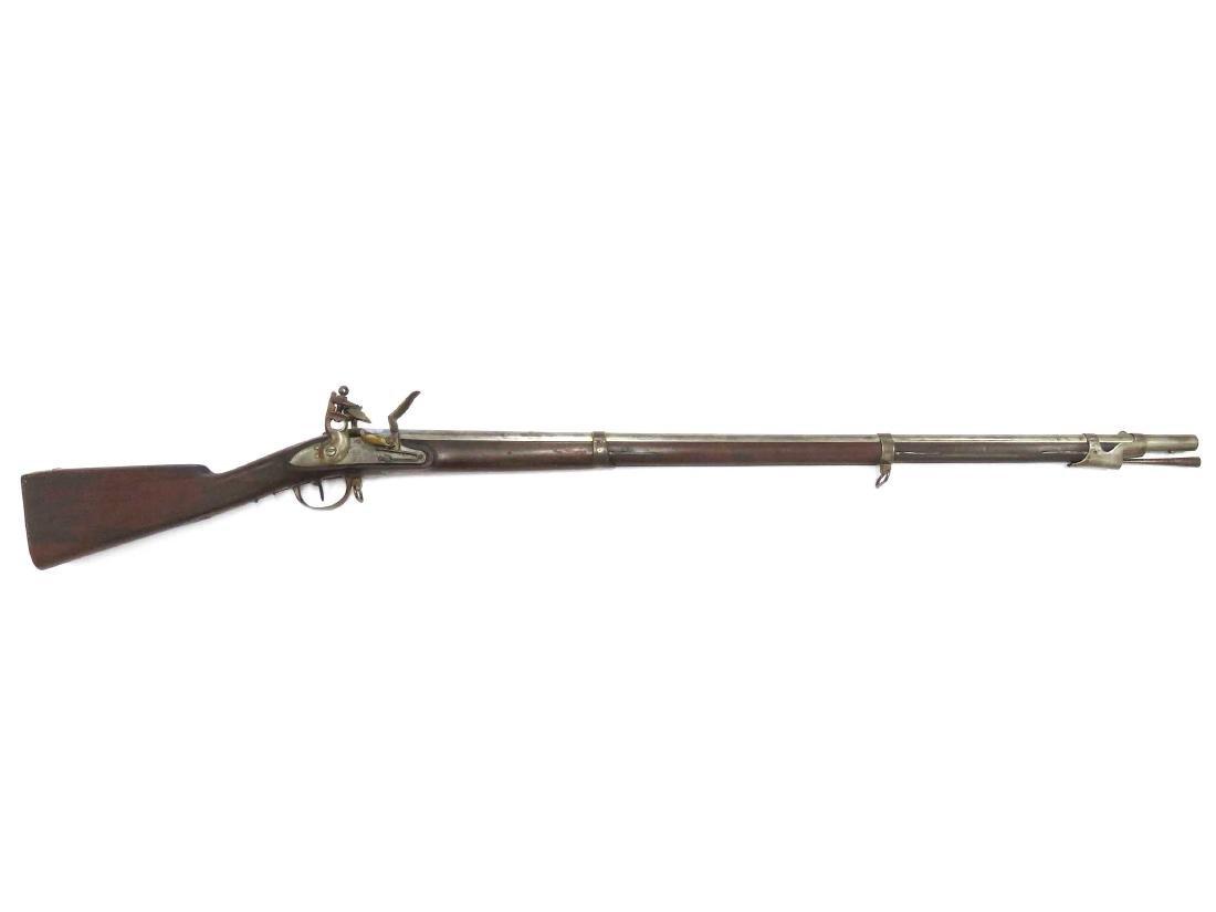 FRENCH MODEL 1822 .69 CAL FLINT LOCK MUSKET, FOR LIGHT