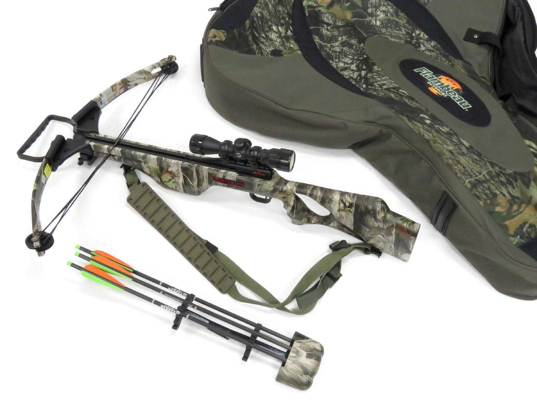PARKER BUCK-BUSTER HP 175 CROSSBOW WITH HAWKE 3 X 32