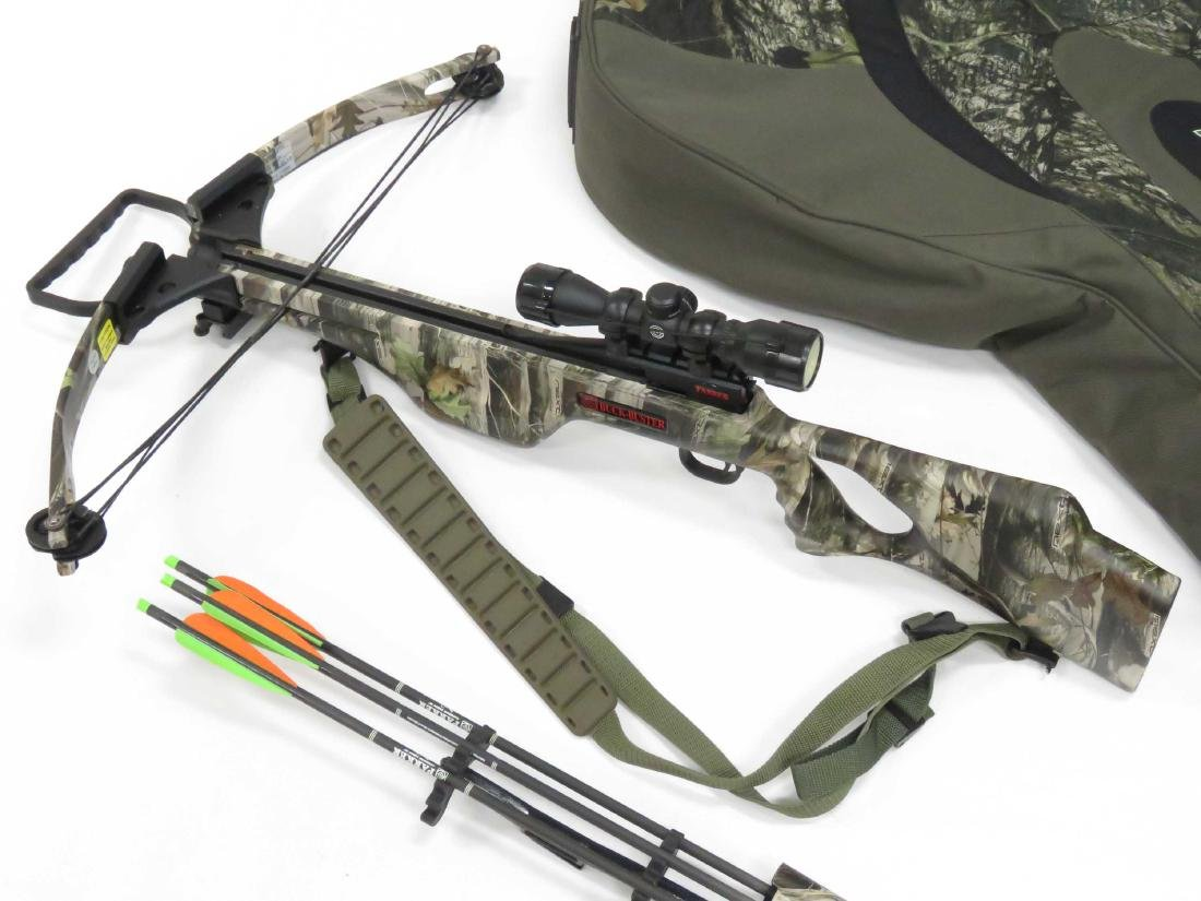 PARKER BUCK-BUSTER HP 175 CROSSBOW WITH HAWKE 3 X 32 - 2