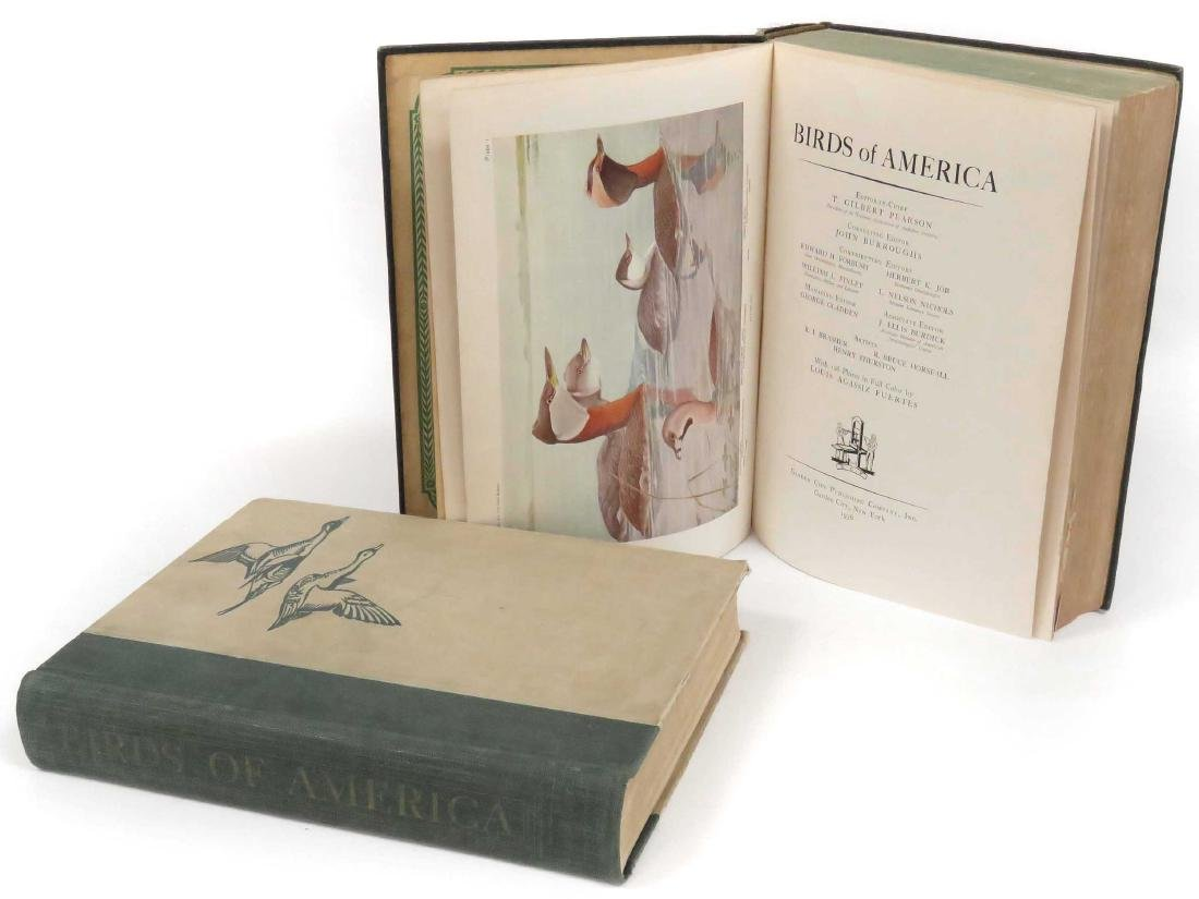 LOT (2) VOLUMES-BIRDS OF AMERICAN, PEARSON/BURROUGHS,