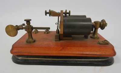 VINTAGE TELEGRAPH SOUNDER (RECEIVER)