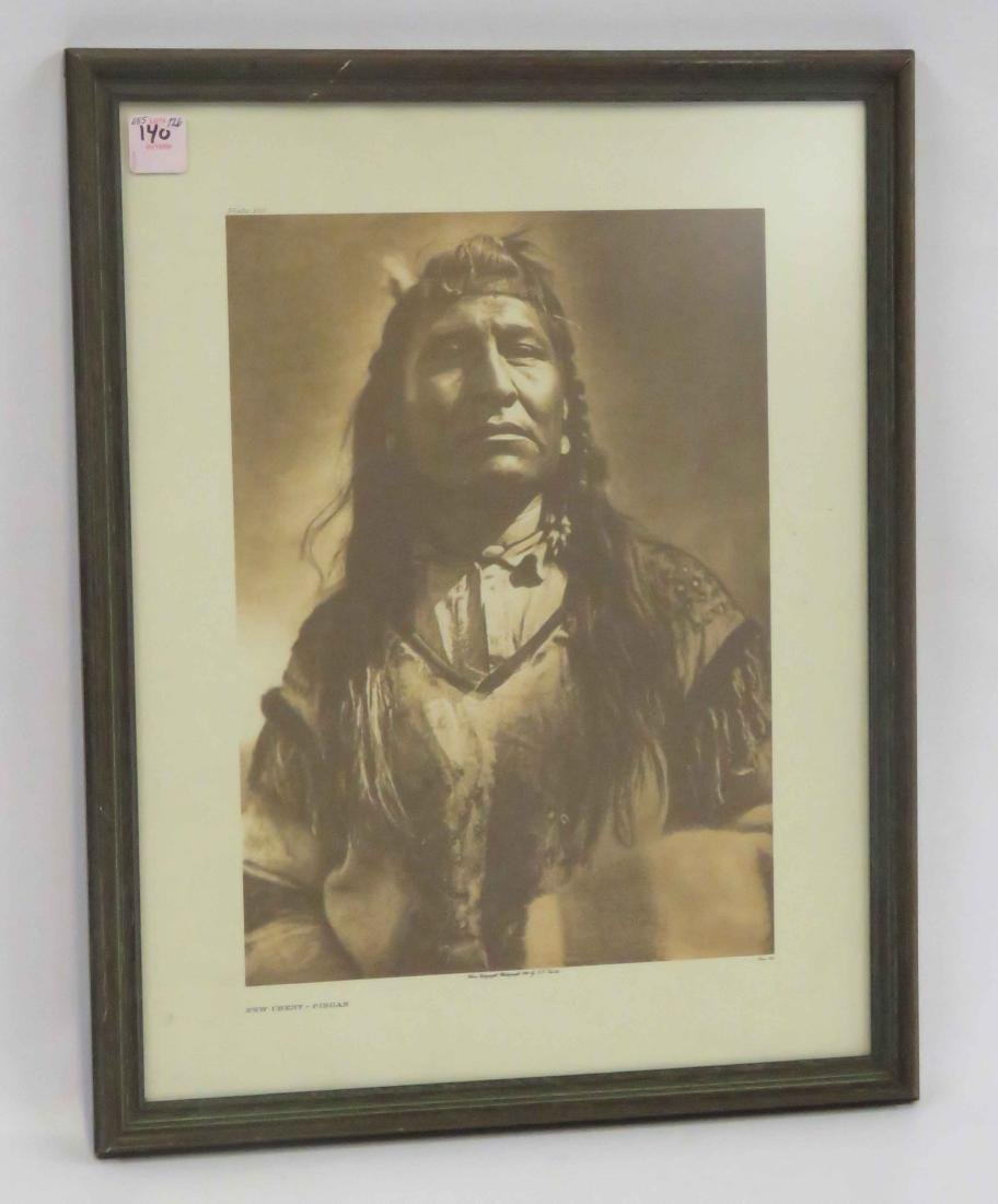 AFTER EDWARD CURTIS, PLATE #200, NEW CHEST-PIEGAN.