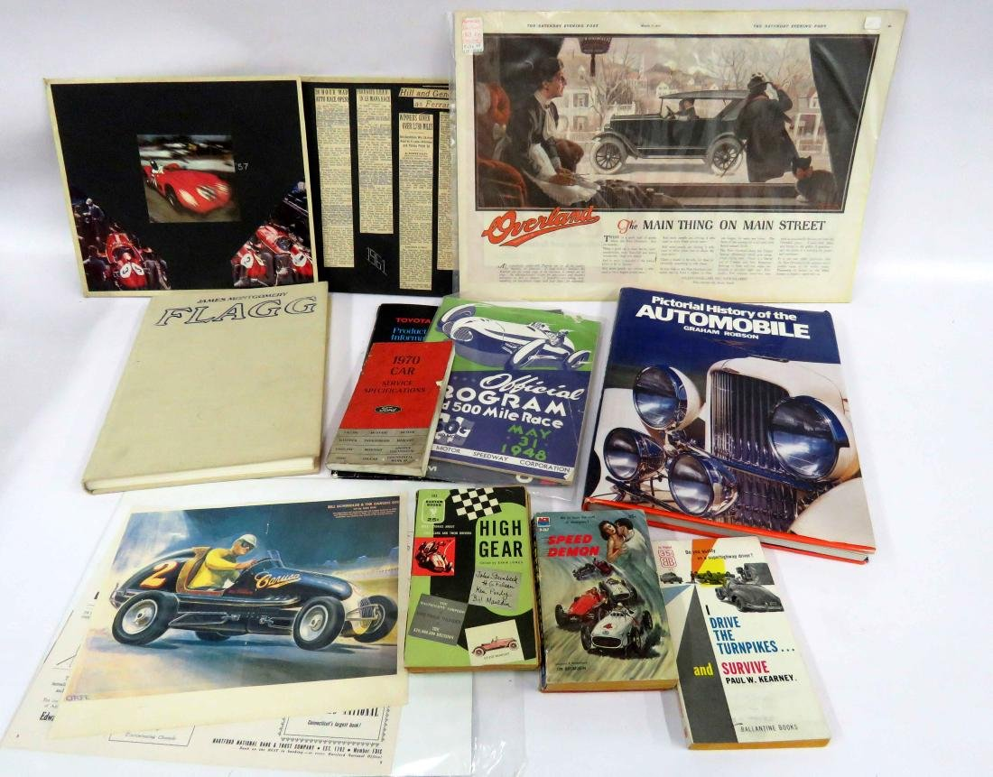 LOT ASSORTED AUTOMOBILE ILLUSTRATED MAGAZINE