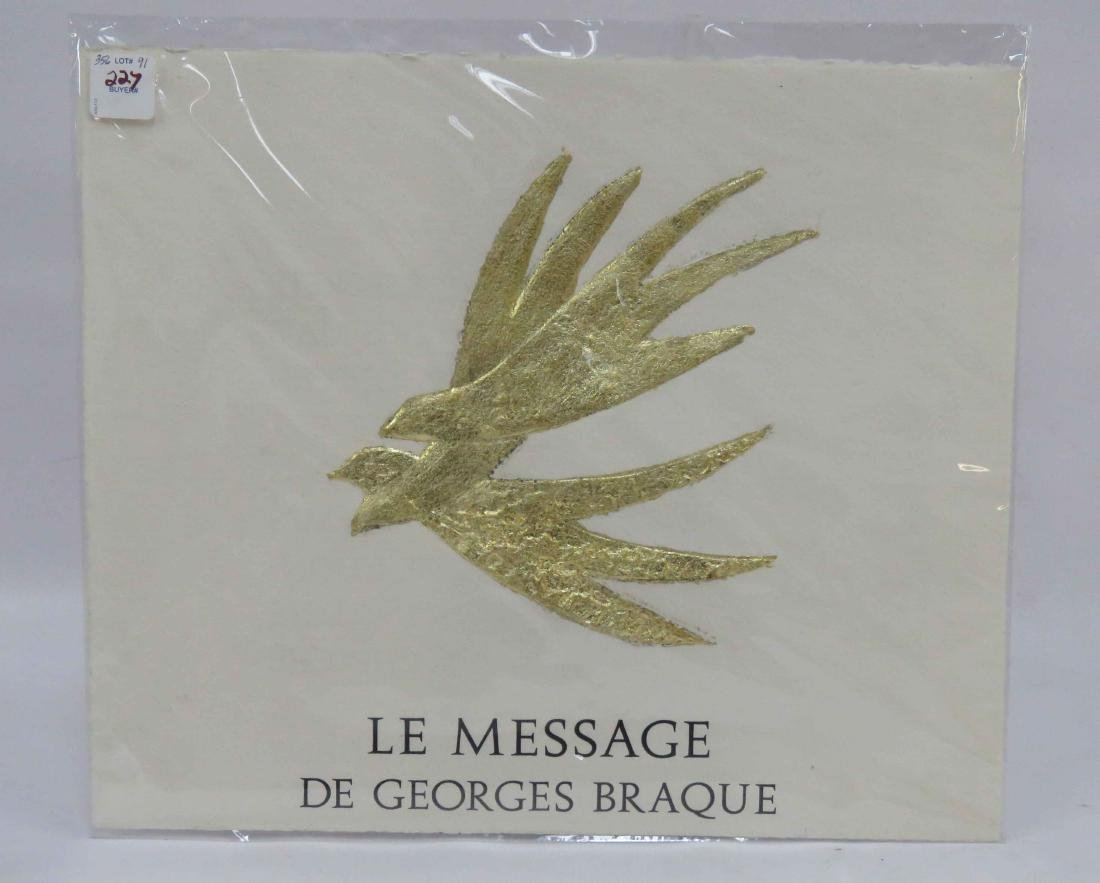 AFTER GEORGES BRAQUE (FRENCH 1882-1963), EMBOSSED