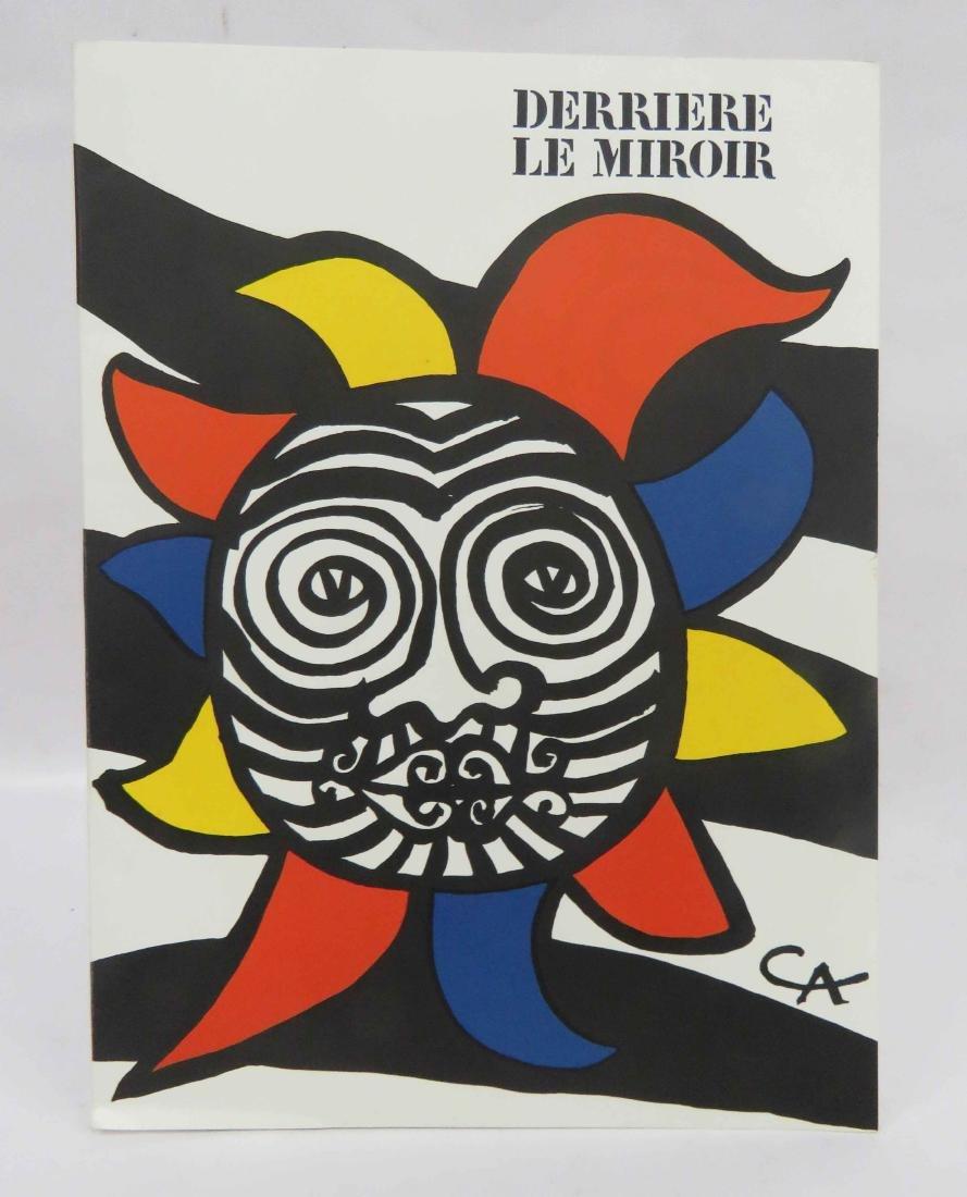 DERRIERE LE MIROIR, ALEXANDER CALDER FOLIO ISSUE,