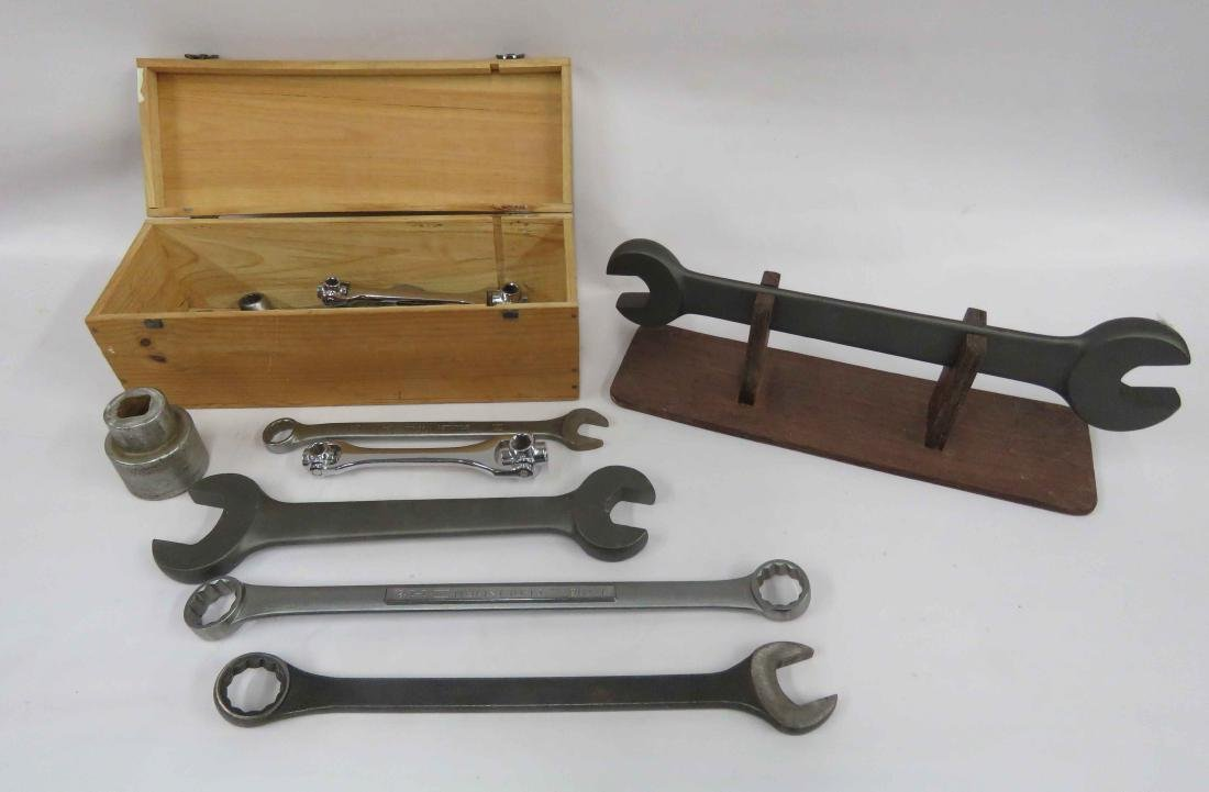 LOT ASSORTED WRENCHES