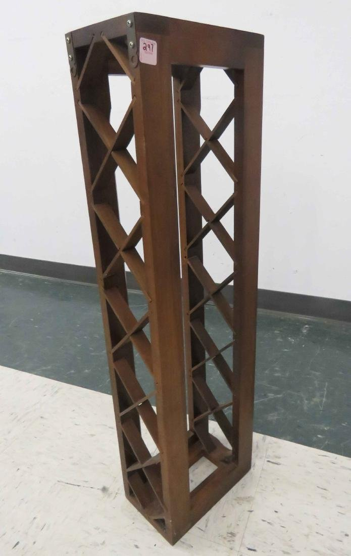 CRAFTSMAN WINE RACK. HEIGHT 34 1/2""