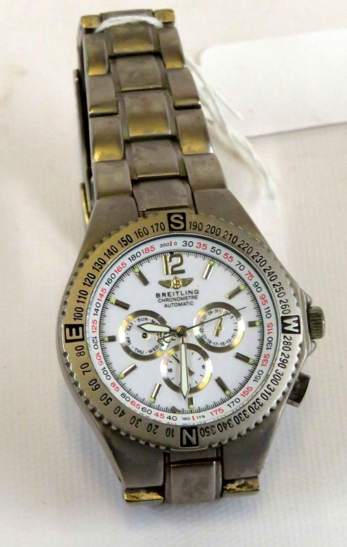 REPLICA BREITLING CHRONOMETER AUTOMATIC STAINLESS