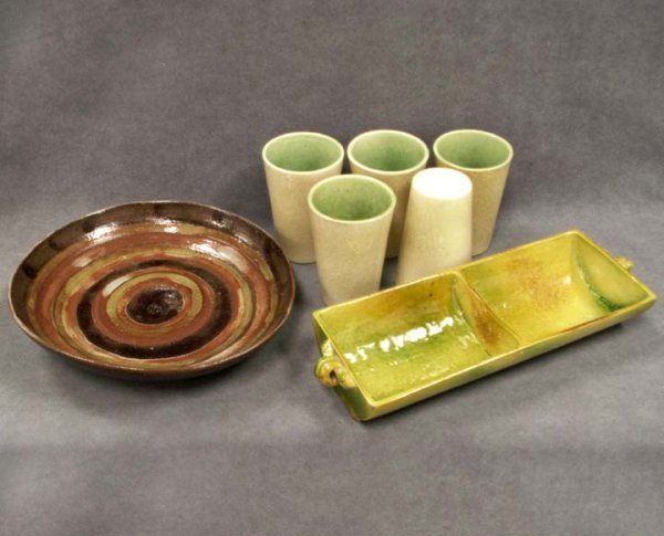18: LOT PEGGY PAVER BECK 20TH CENTURY ART POTTERY