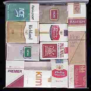 (12) ASSORTED VINTAGE CIGARETTE PACKS