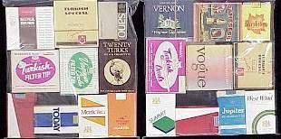 (20) ASSORTED VINTAGE CIGARETTE PACKS