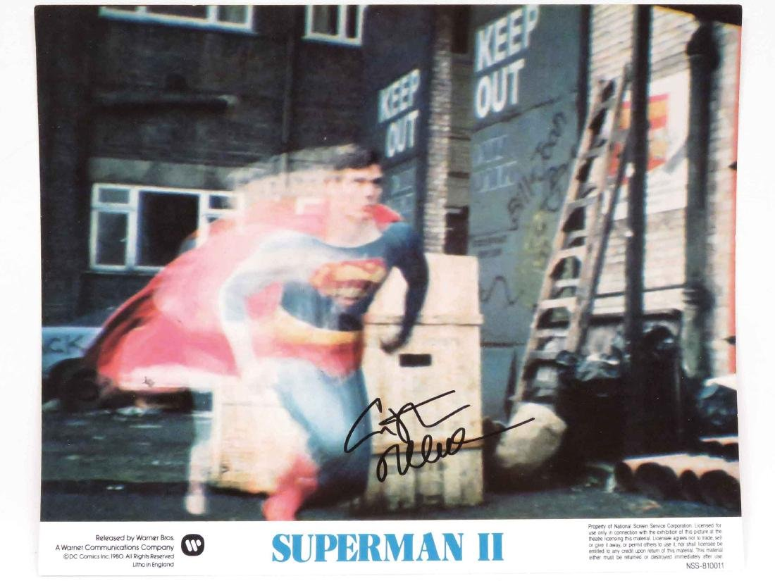 CHRISTOPHER REEVE (AMERICAN ACTOR 1952-2004),