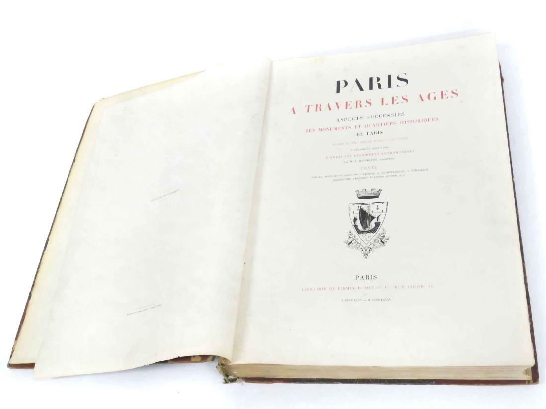 FOLIO VOLUME-PARIS A TRAVERS LES AGES ASPPECTS