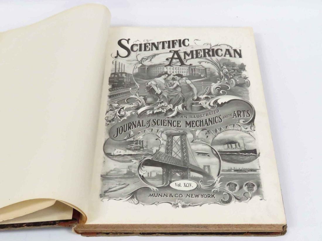 BOUND SCIENTIFIC AMERICAN, JAN 6, 1906-JUNE 30, 1906
