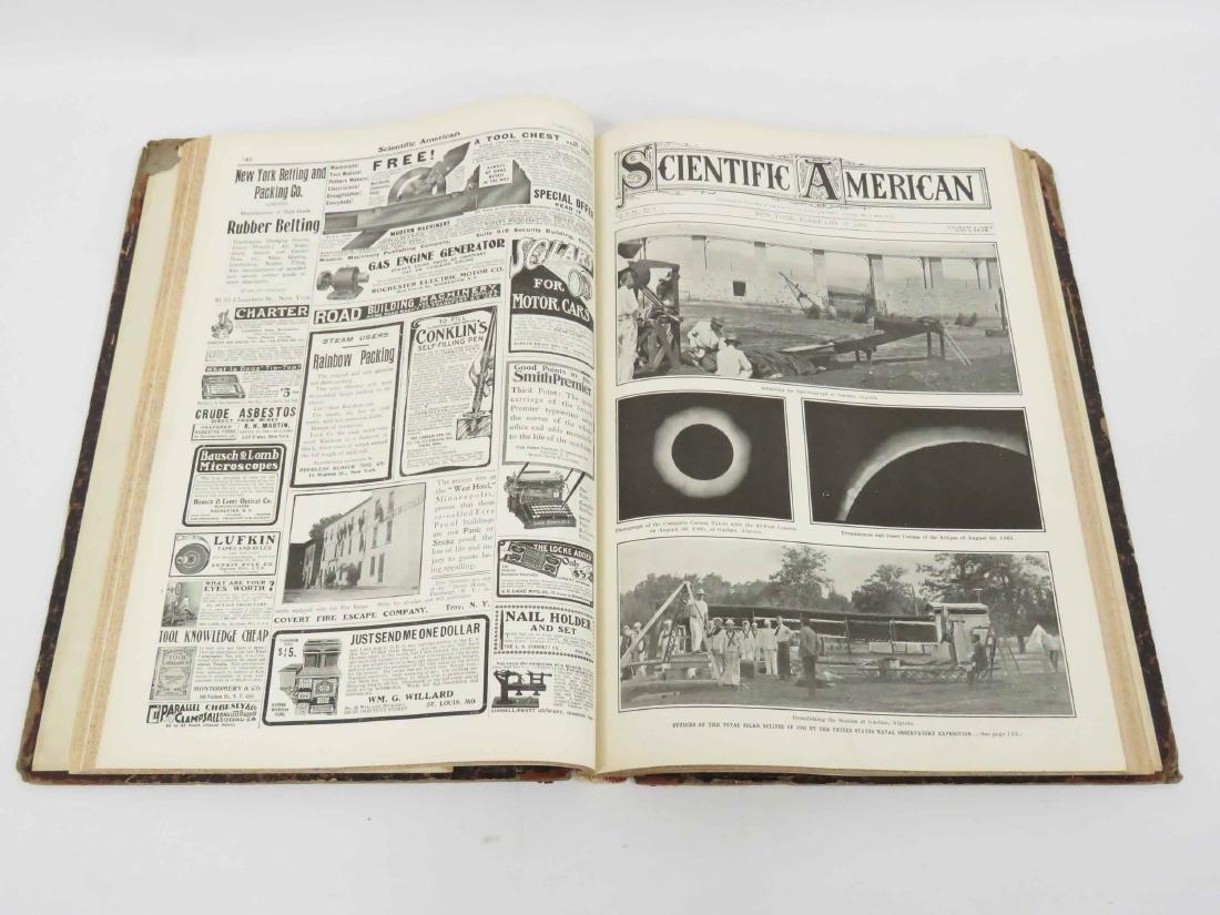 BOUND SCIENTIFIC AMERICAN, JAN 6, 1906-JUNE 30, 1906 - 3