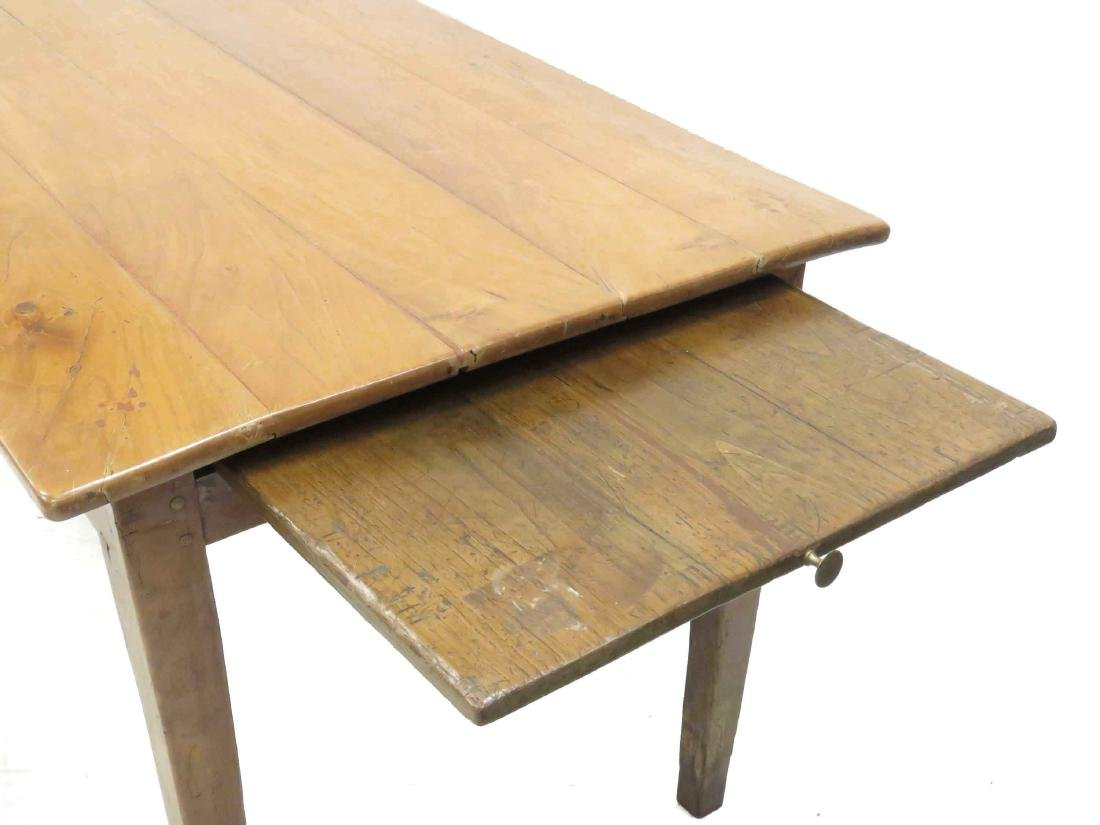 FRENCH PROVINCIAL FRUITWOOD FARM TABLE, 18/19TH - 3