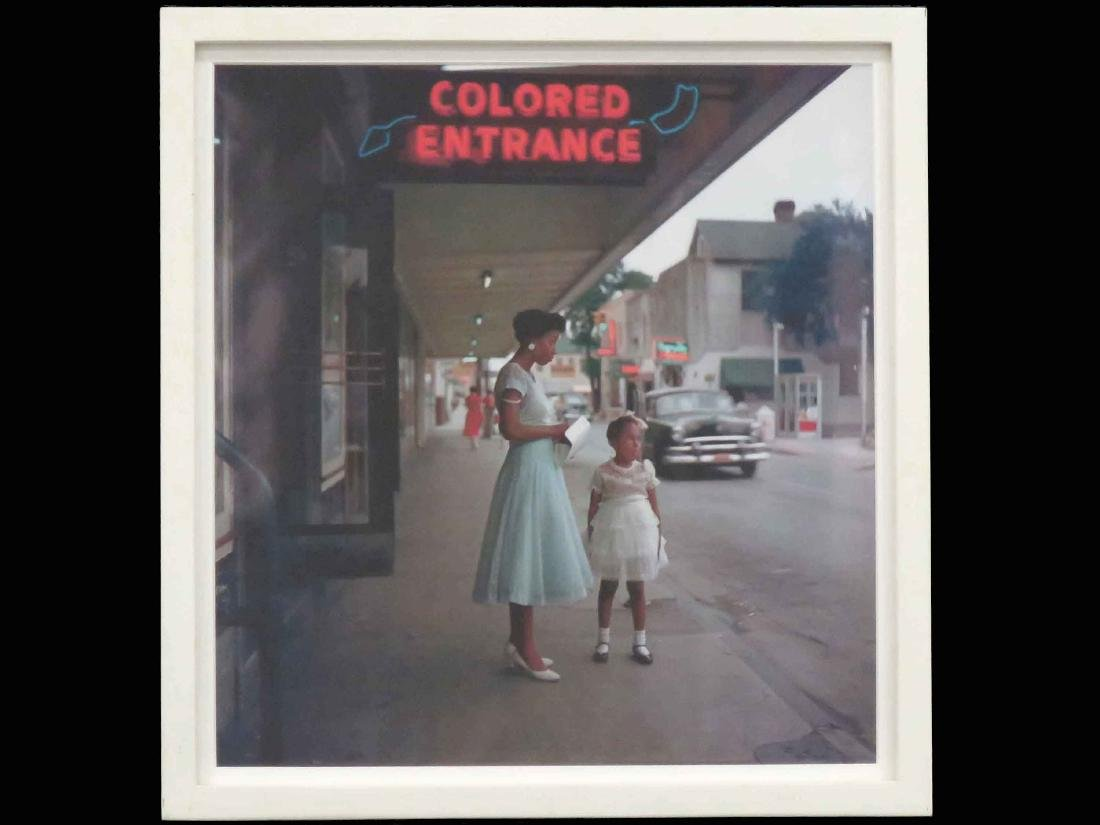 AFTER GORDON PARKS (AMERICAN 1912-2006), COLOR PRINT,
