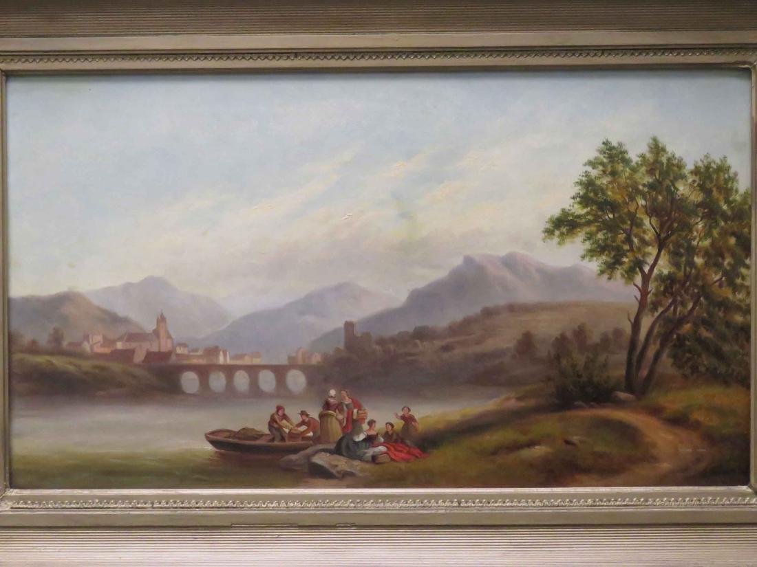 SCOTTISH SCHOOL (19TH CENTURY) OIL ON CANVAS, LANDSCAPE - 2