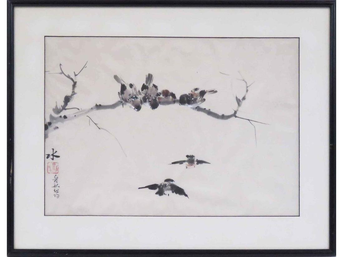 CHINESE SCHOOL (20TH CENTURY), WATERCOLOR ON PAPER,