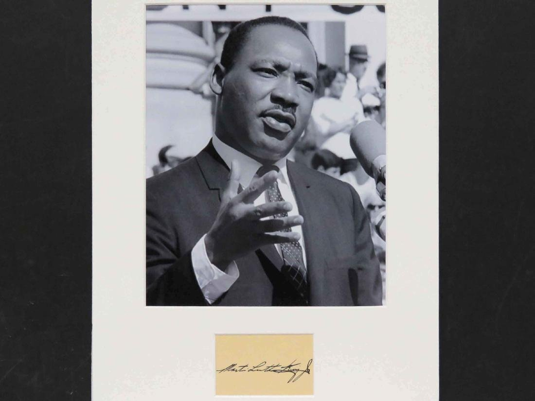 MARTIN LUTHER KING JR. (AMERICAN CIVIL RIGHTS ACTIVIST