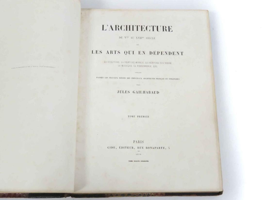 VOLUME I: L'ARCHITECTURE DU VINE AU XVII ME SIECLE ET