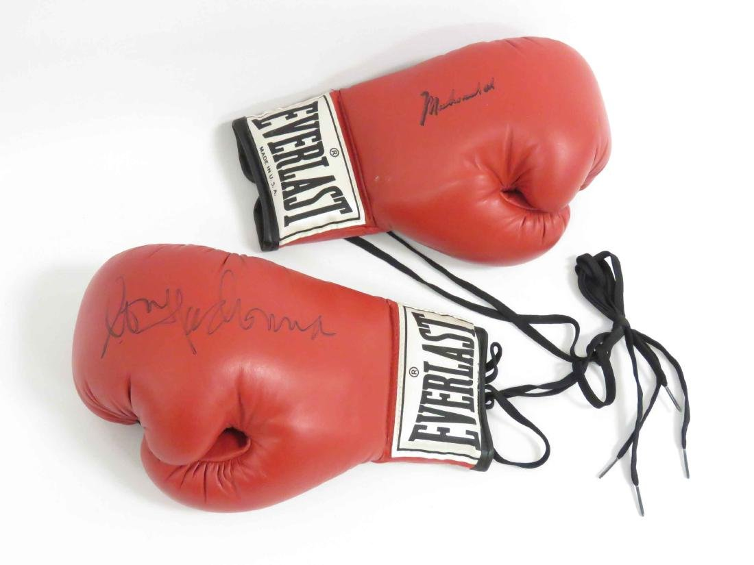 PAIR AUTOGRAPHED BOXING GLOVES, (1) SIGNED BY MADONNA, - 2
