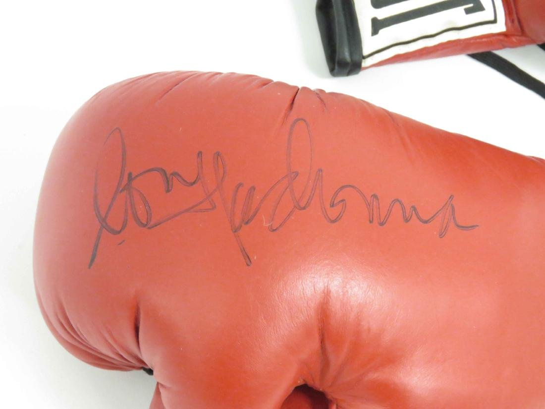PAIR AUTOGRAPHED BOXING GLOVES, (1) SIGNED BY MADONNA, - 3