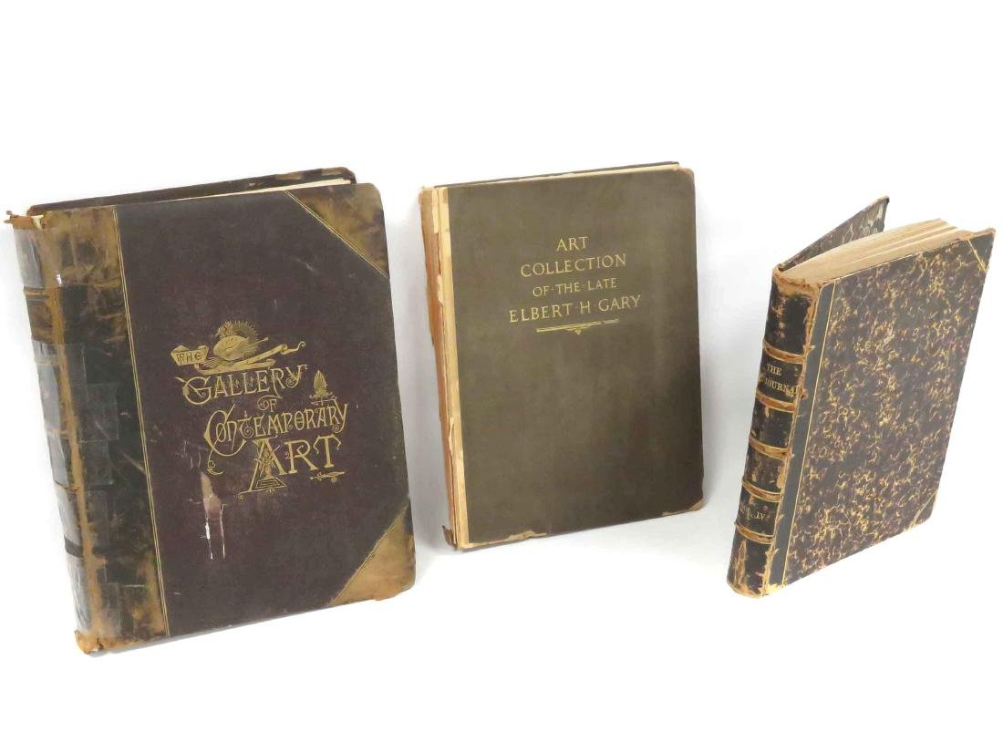 LOT (3) INCLUDING THE ART JOURNAL VOL IV, 1852; THE