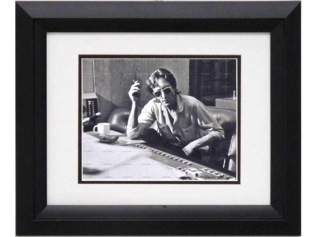 DAVID SPINDEL (AMERICAN 1941-), PHOTOGRAPH, JOHN LENNON