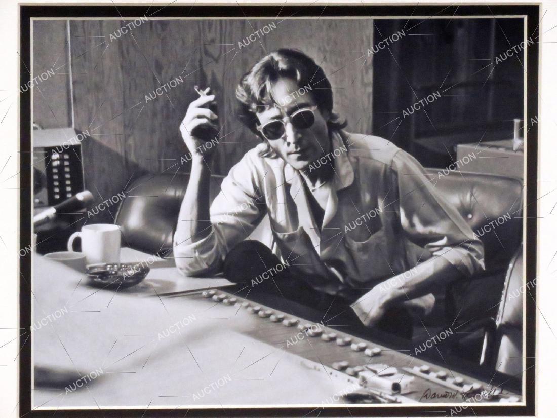 DAVID SPINDEL (AMERICAN 1941-), PHOTOGRAPH, JOHN LENNON - 2