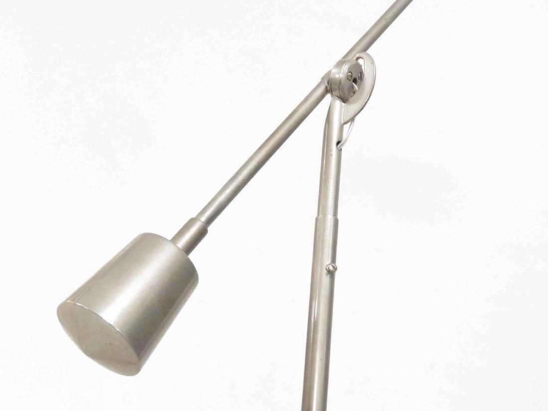 DESIGNER MODERN CHROMED ADJUSTABLE FLOOR LAMP - 3