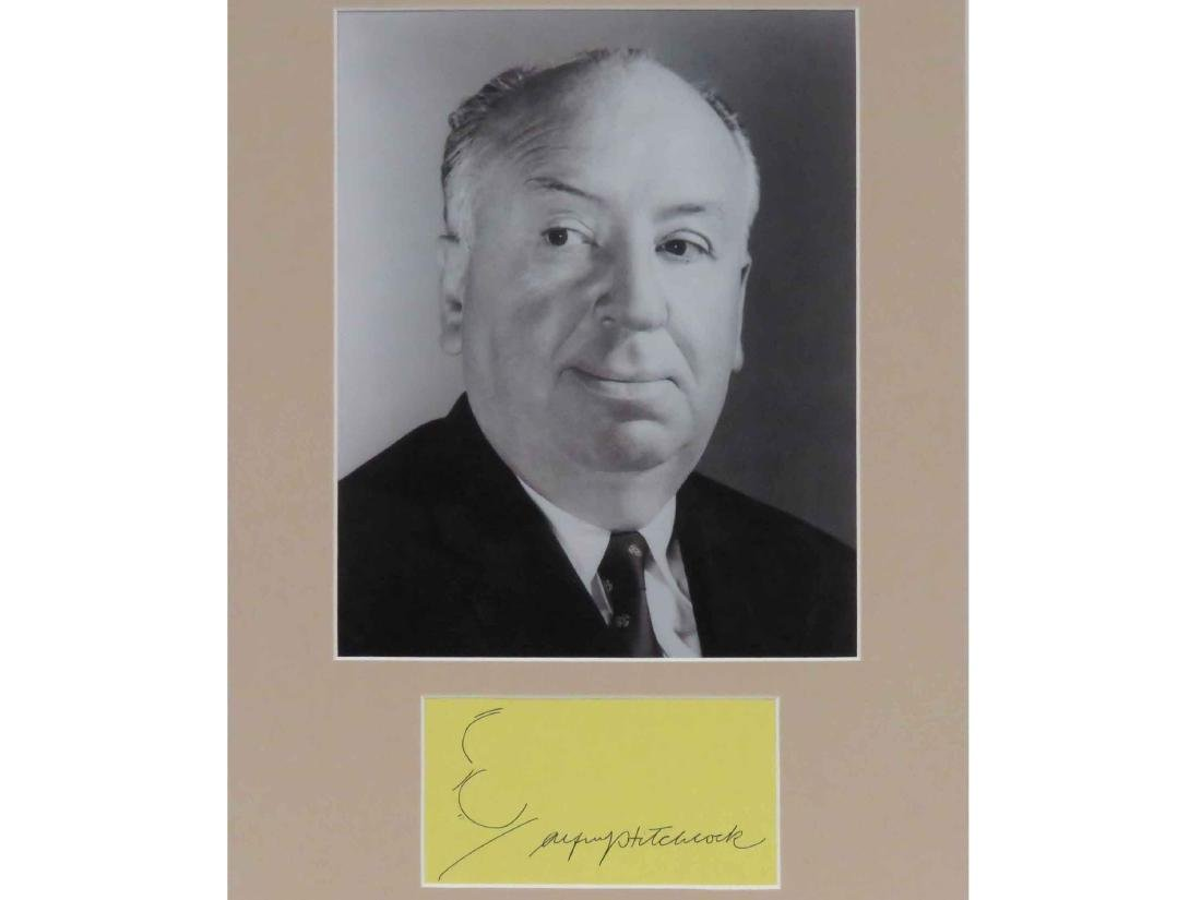 """ALFRED HITCHCOCK (ENGLISH FILM DIRECTOR """"THE MASTER OF"""