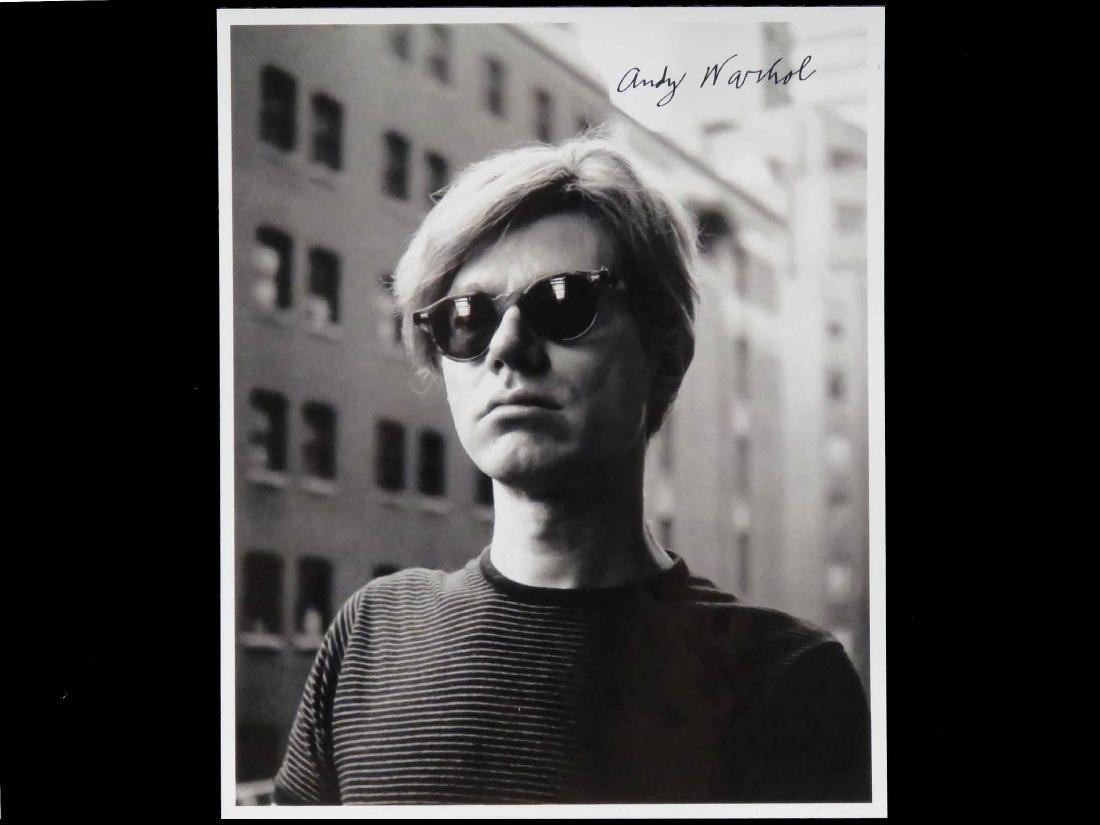 ANDY WARHOL (AMERICAN ARTIST 1928-1987), PHOTOGRAPH,