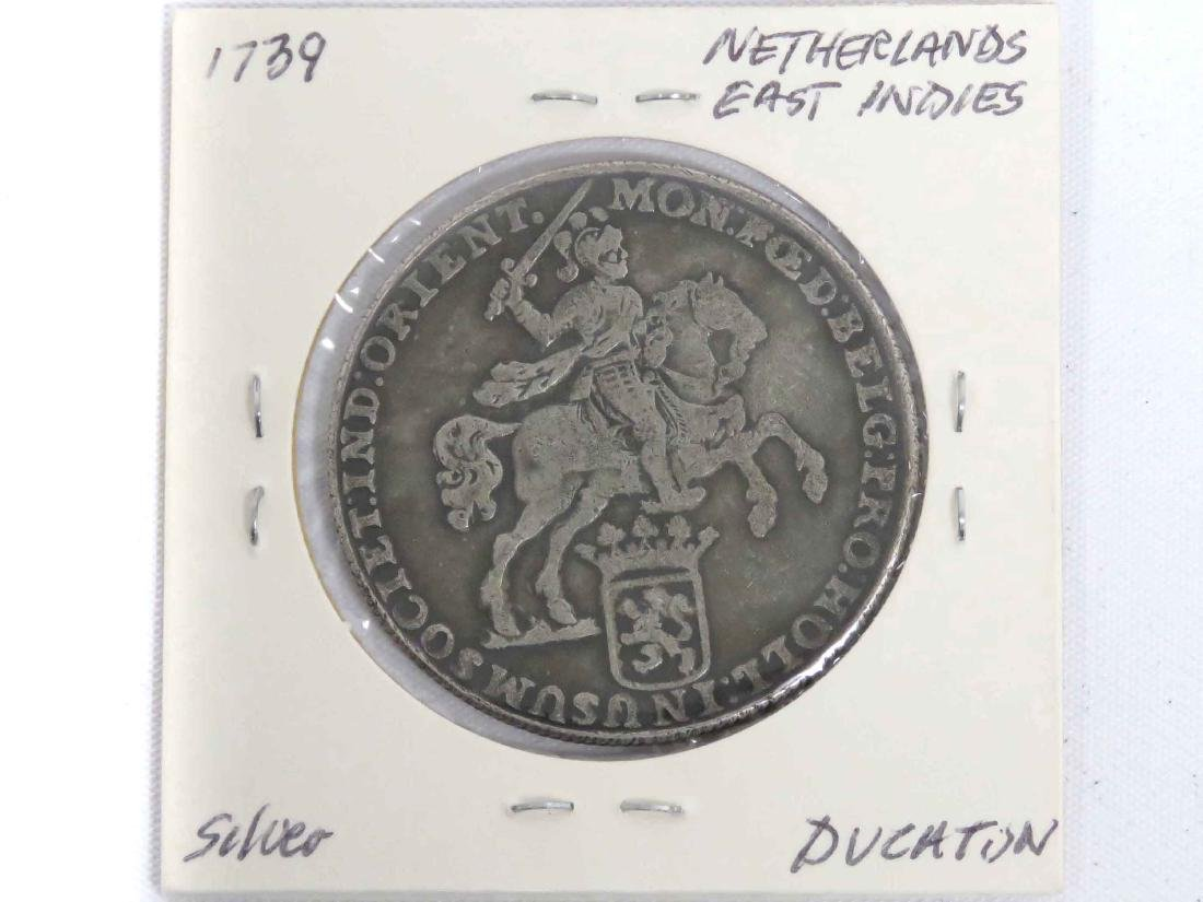REPLICA 1739 NETHERLANDS EAST INDIES 1 DUCATAN