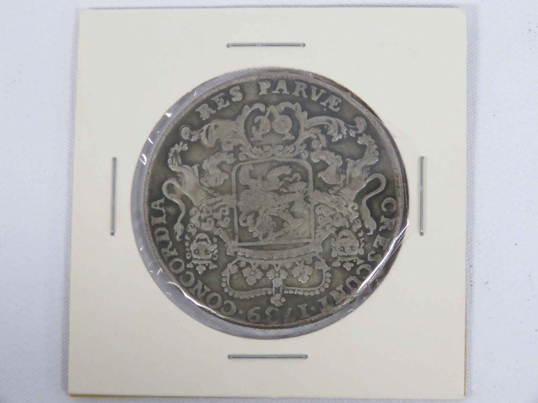 REPLICA 1739 NETHERLANDS EAST INDIES 1 DUCATAN - 2