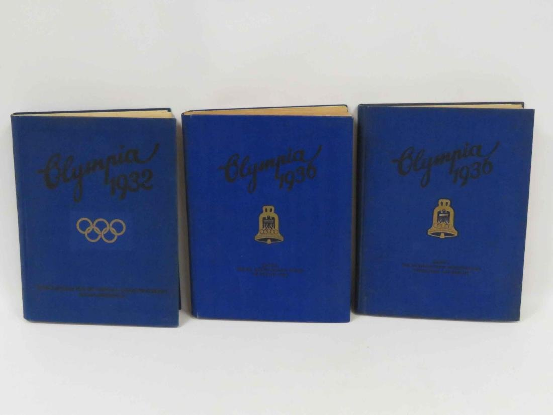 LOT (3) GERMAN 1932 & 1936 OLYMPIC TOBACCO CARD ALBUMS - 2