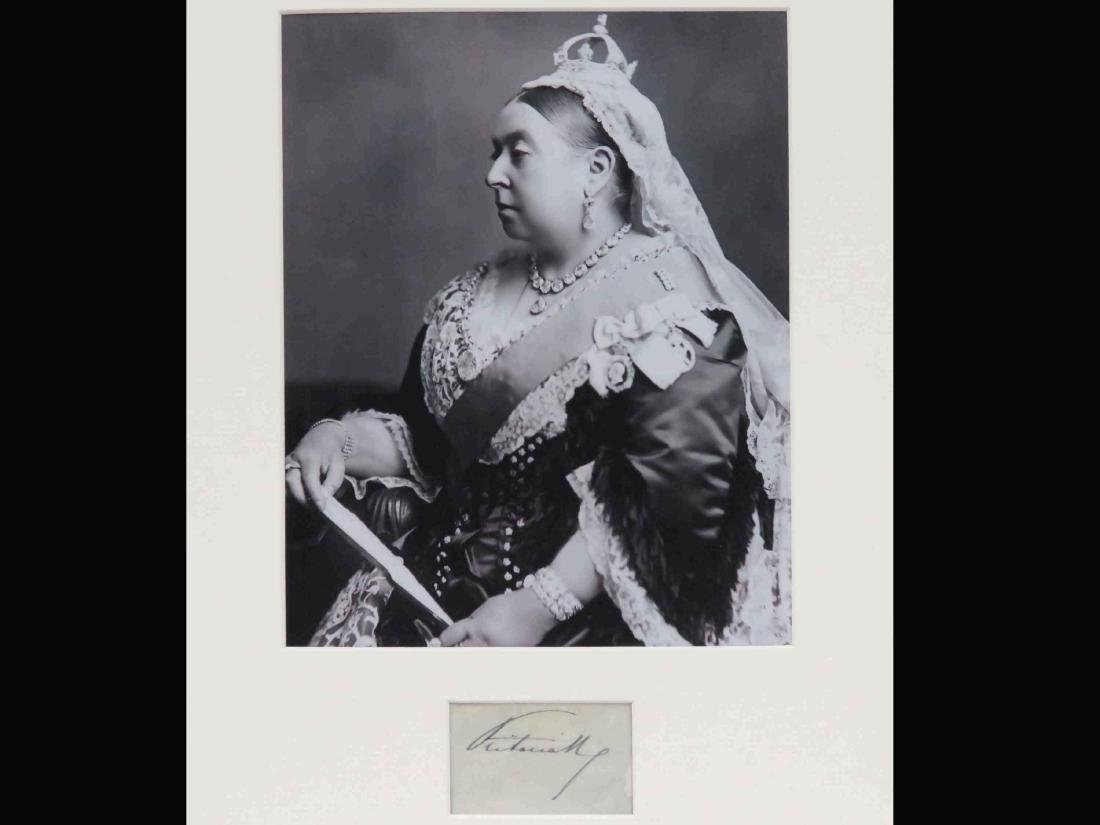 QUEEN VICTORIA (ENGLISH MONARCH 1819-1901), INK