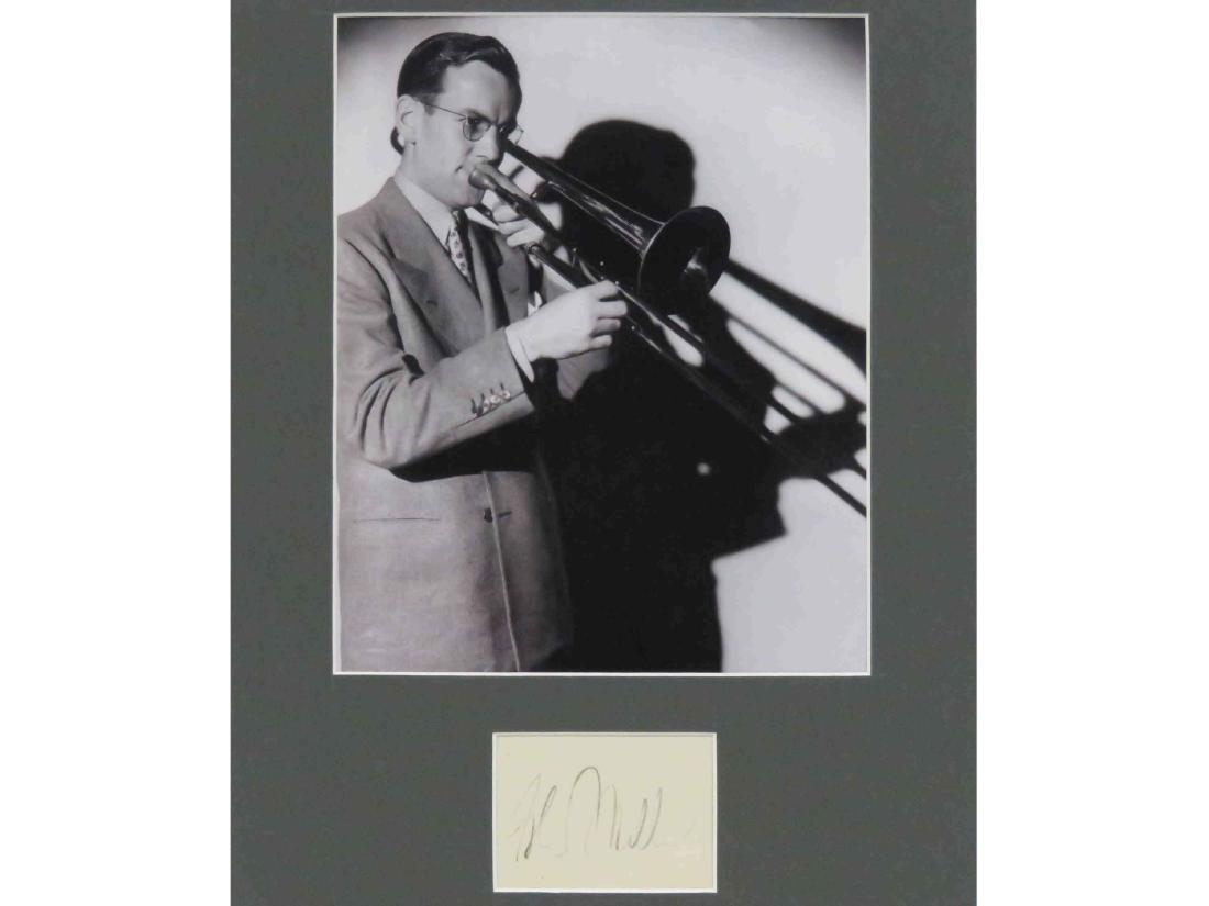 GLENN MILLER (AMERICAN BANDLEADER 1904-1944), INK