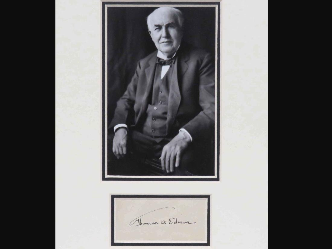 THOMAS ALVA EDISON (AMERICAN INVENTOR 1847-1931),