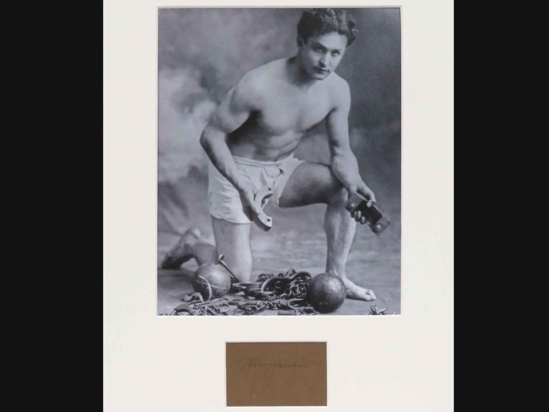 HARRY HOUDINI (AMERICAN ILLUSIONIST 1874-1926),