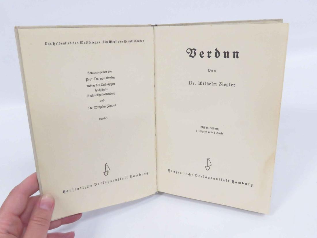 VOLUME VERDUN (EX LIBRIS ADOLF HITLER) - 2