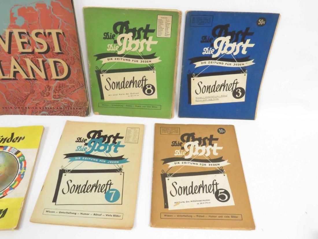 LOT (12) INCLUDING (2) GERMAN TOBACCO CARD ALBUMS & - 2
