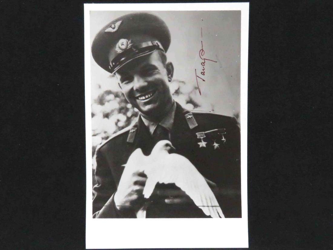YURI GAGARIN (FIRST RUSSIAN COSMONAUT 1934-1968),