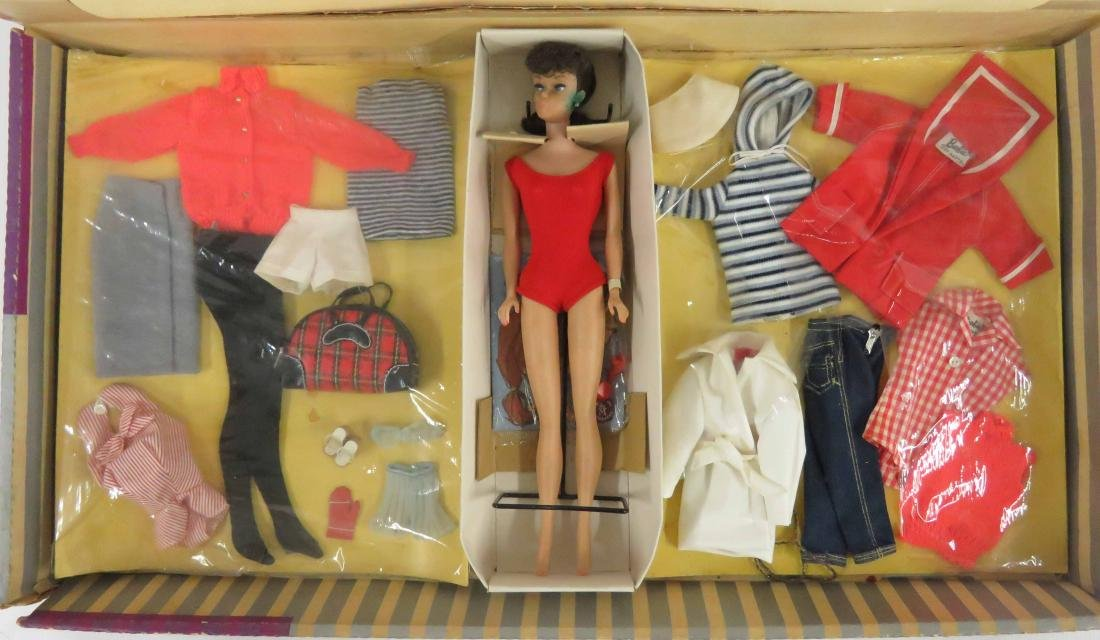 VINTAGE BARBIE DOLL & ACCESSORIES, C.1960-70'S (NIB)