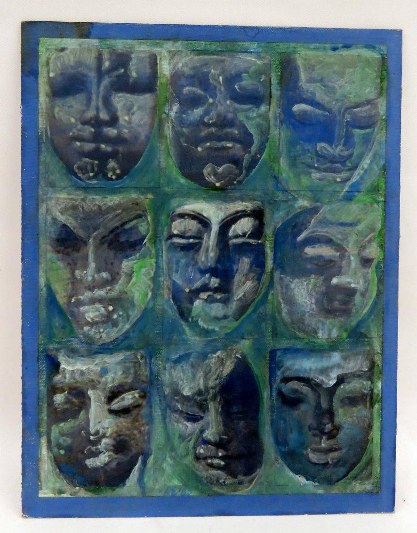 AMERICAN SCHOOL (20TH CENTURY), MIXED MEDIA AND