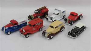 LOT 7 DYE CAST CARTRUCK MODELS INCLUDING SUNCLAIR