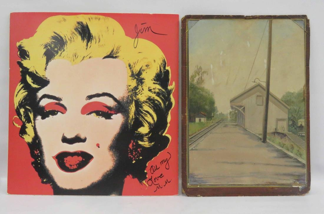 LOT (3) INCLUDING AFTER ANDY WARHOL, MARILYN, 25 5/8 X