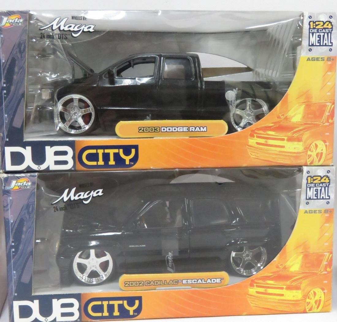 BOX LOT (6) DUB CITY DIE CAST OLD SKOOL CAR & TRUCK - 3