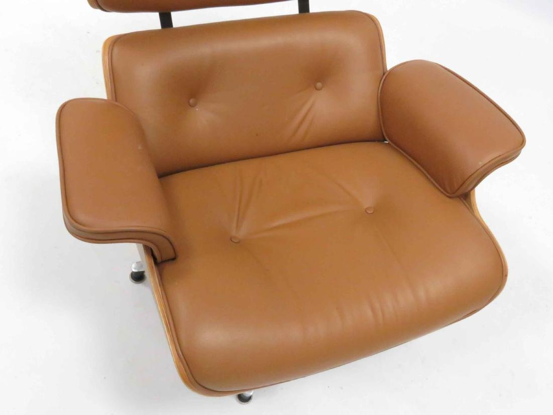 EAMES STYLE LAMINATED LOUNGE CHAIR - 2